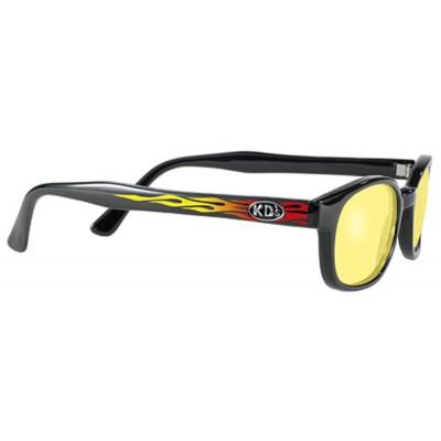 KD's 30112 -1 - flame yellow sunglasses par cachalo