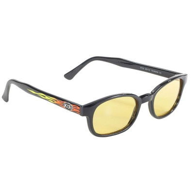 KD's 30112 -2 - flame yellow sunglasses par cachalo