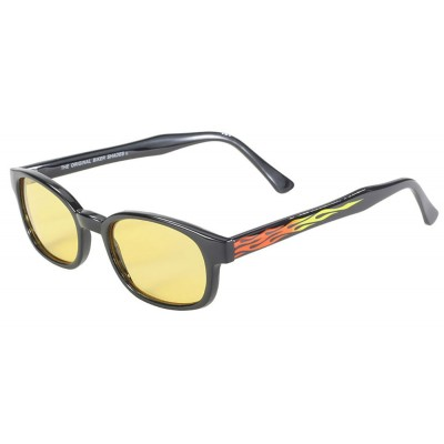 KD's 30112 -4 - flame yellow sunglasses par cachalo