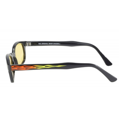 KD's 30112 -5 - flame yellow sunglasses par cachalo