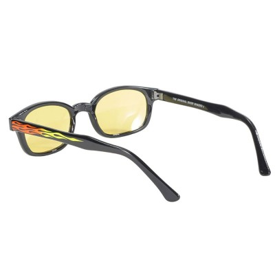 KD's 30112 -6 - flame yellow sunglasses par cachalo