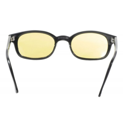 KD's 30112 -7 - flame yellow sunglasses par cachalo